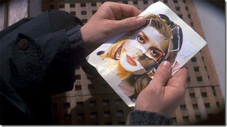 杜鲁门构建了西尔维亚的肖像's face