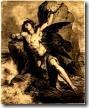Prometeo, Titán de la Grecia clásica, que llevo el fuego a la humanidad.