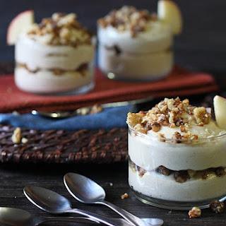 No Bake Apple Butter Mini Cheesecakes Recipe
