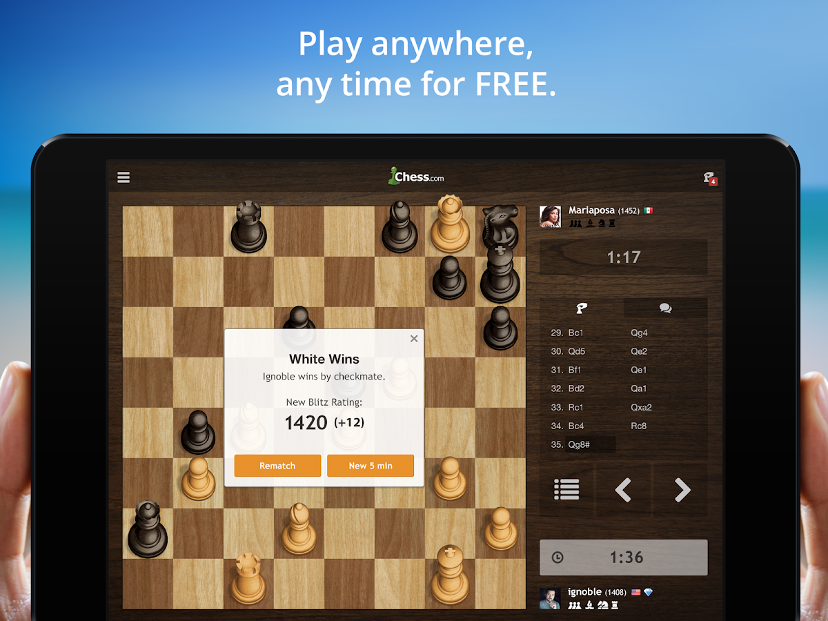 Chess - Play & Learn - screenshot