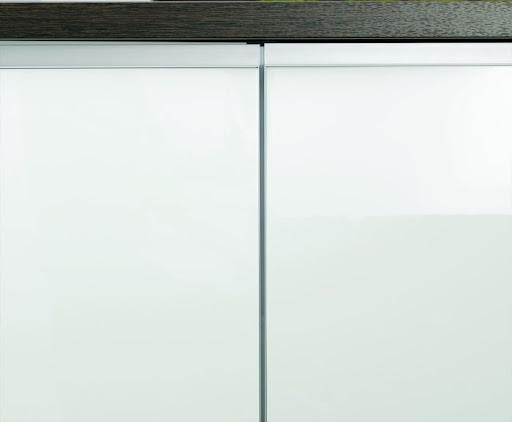 alnoart pro block k che front glas wei hochglanz. Black Bedroom Furniture Sets. Home Design Ideas
