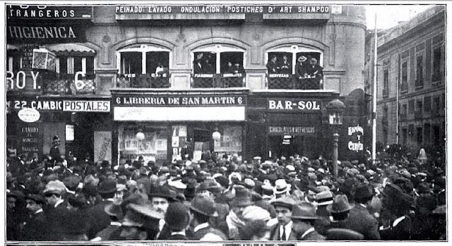 Historia urbana de madrid cien a os de la muerte de canalejas for Libreria puerta del sol