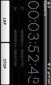 Simple Stopwatch Pro screenshot 4
