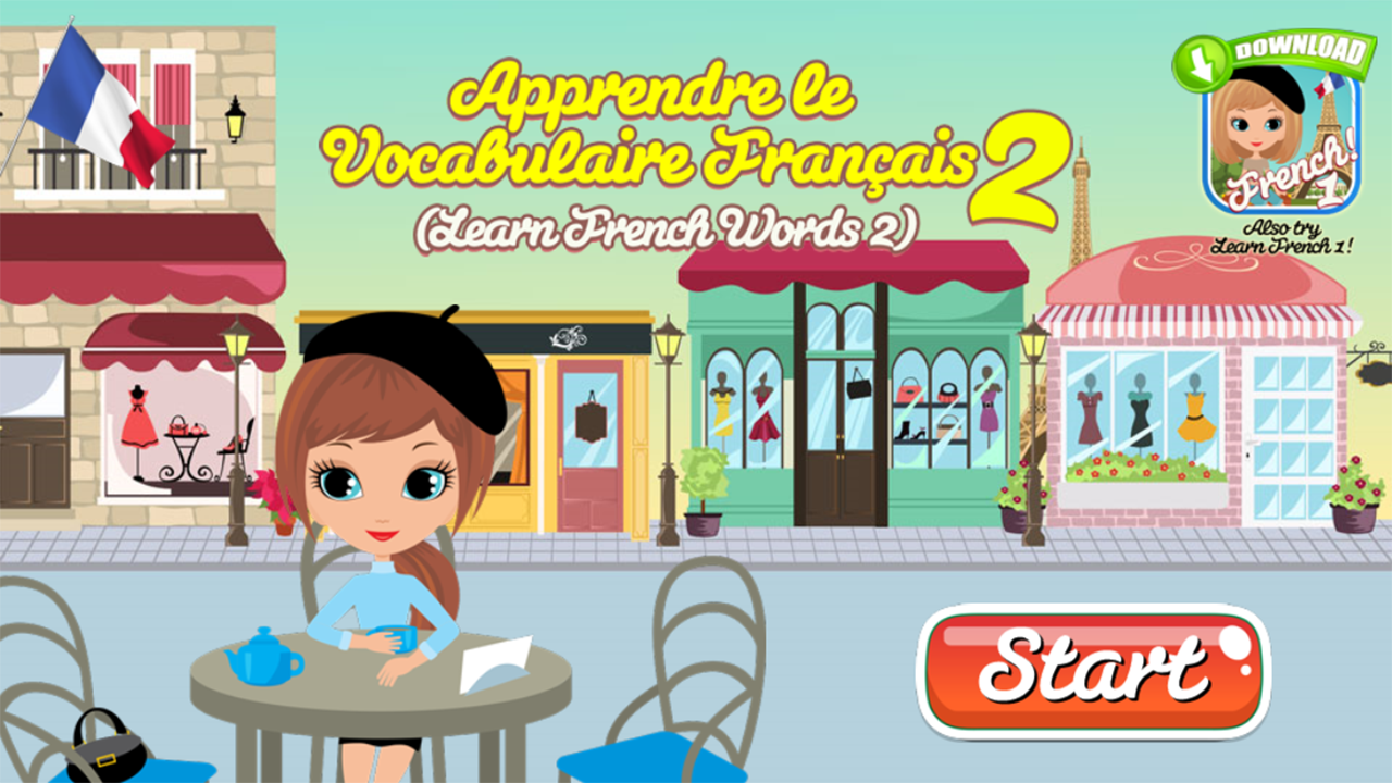 Learn French Words 2- screenshot