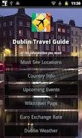 Screenshot of Dublin Offline Travel Guide