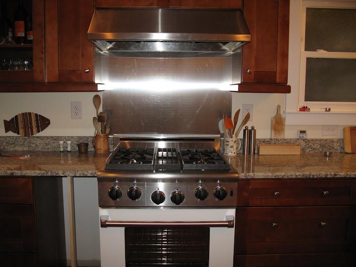 Any problems with painted backsplashes - Ideas for backsplash behind stove ...