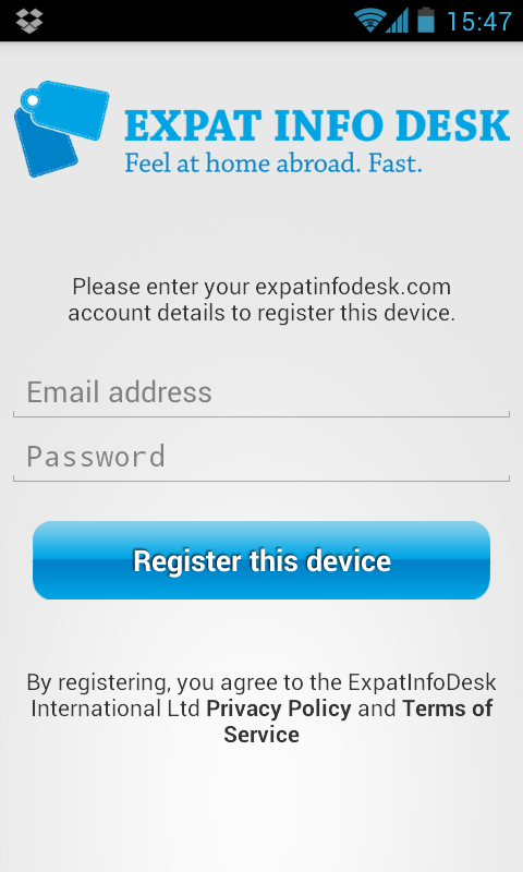 Expat Info Desk- screenshot