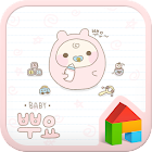 Baby dodol launcher theme icon