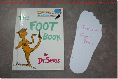dr seuss day foot book
