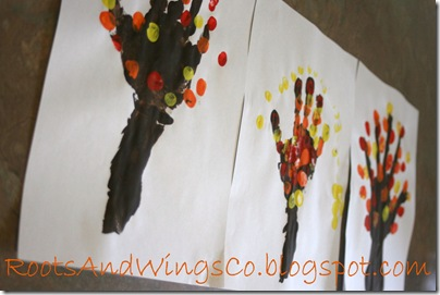 thanksgiving finger painting preschool activity d