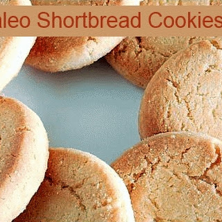 Paleo Shortbread Cookies ~ Low Carb