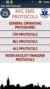 NYC EMS Protocols - screenshot thumbnail
