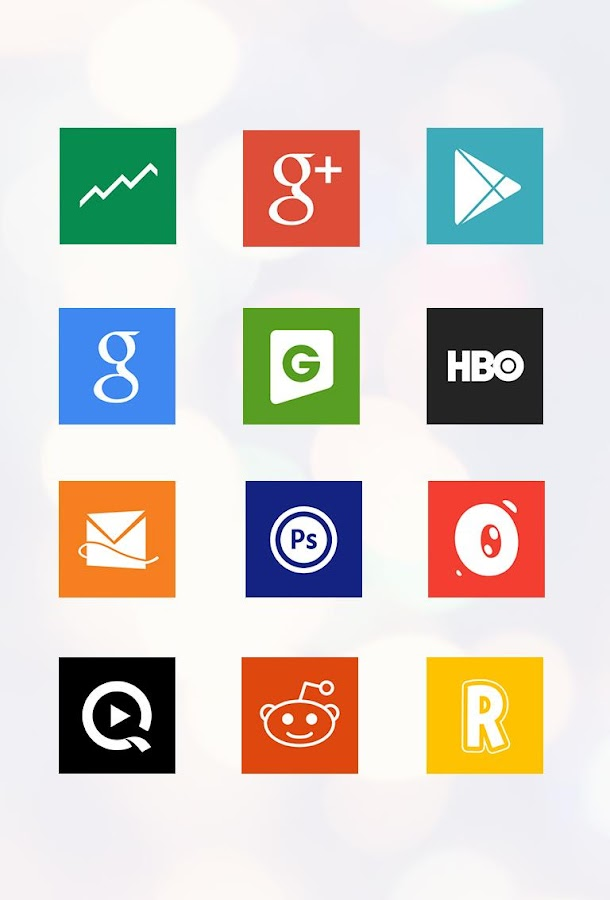 2colors icons Apex/GO/Nova/ADW - screenshot