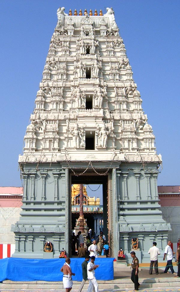 The replica of Tirumala temple of Lord Balaji