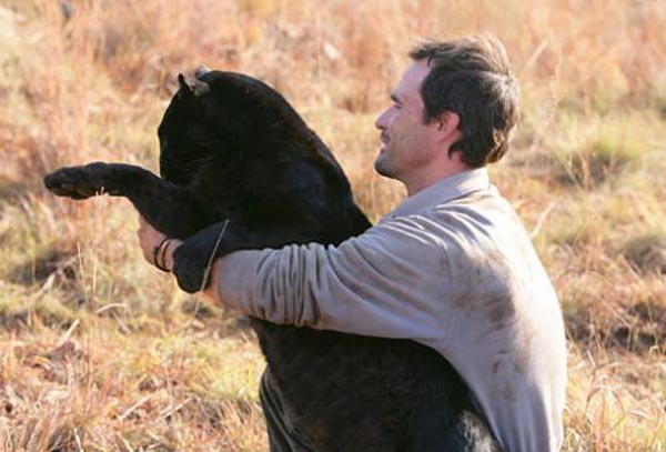 Ranger with a black panther
