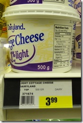 30-42 Cottage Cheese sign