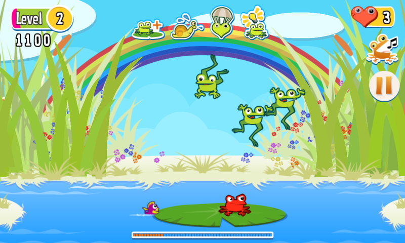 The Froggies Game- screenshot