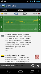 Super XV - Super Rugby Live - screenshot thumbnail