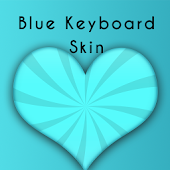 Blue Skin Keyboard
