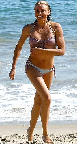 Sexy cameron diaz on bikini — pic 4