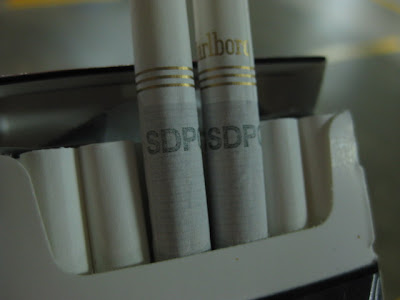 "Fined in Singapore For Smoking Cigarettes without ""SDPC"" Markings"