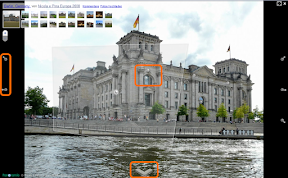 Navigation in Fotos Maps