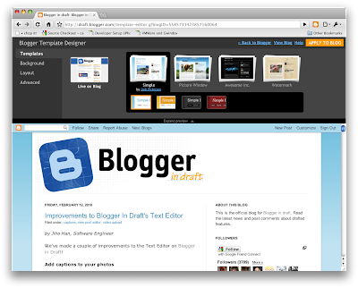 Blogger Designer