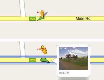 Street View Pegman Vuvuzela