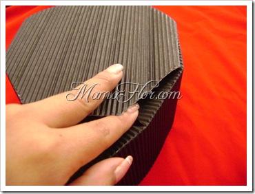 caja regalo empaque molde fácil 317
