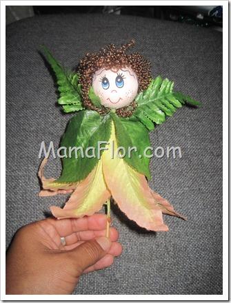 Adornos Reciclados De Flores Artificiales Manualidades Mamaflor - Manualidades-con-flores-artificiales
