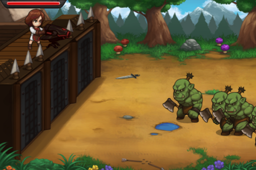 Orc Attack Tower Defense Game