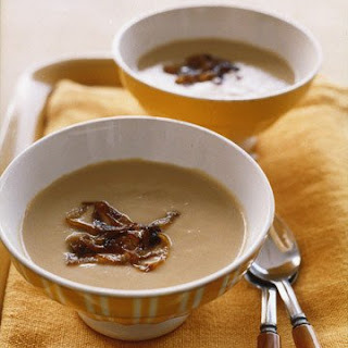 Creamy Caramelized-Onion Soup.