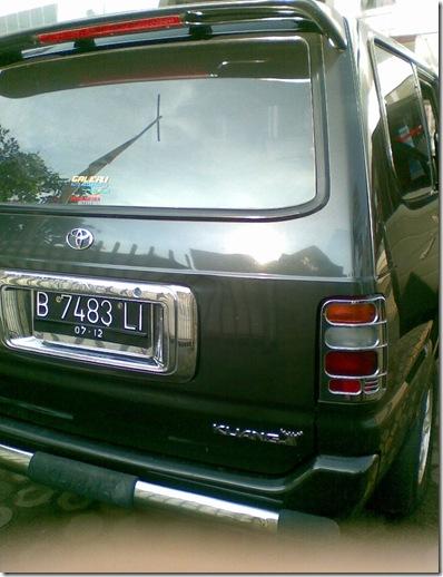Mobil Bekas Jambi: Toyota Kijang LX thn 1997 (SUDAH LAKU)