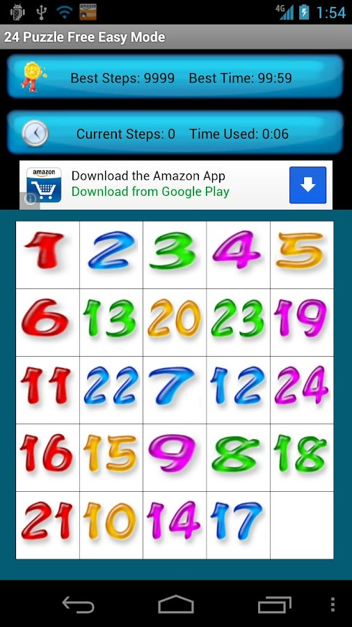 24 Puzzle Free - screenshot