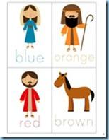 Nativity Preschool Pack colors