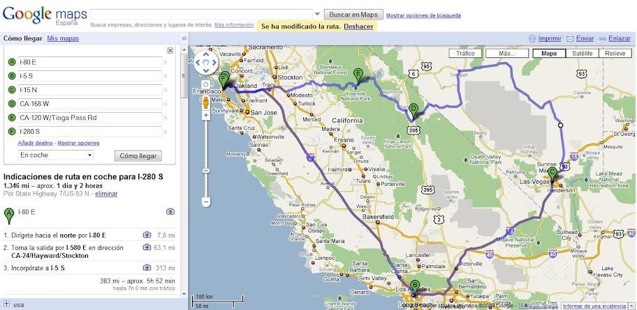 Usar Google Maps