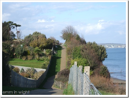 Arriving in the Isle of Wight 3