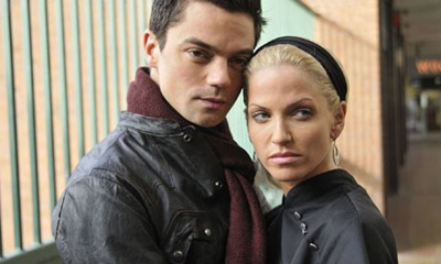 Dominic Cooper is Dave Matthews and Sarah Harding plays his girlfriend