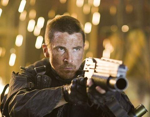 Christian Bale is drop dead gorgeous as John Connor