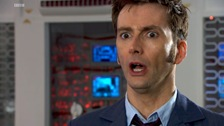 David Tennant is the Tenth Doctor (and he is silly)