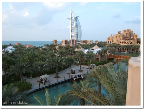 Burj-al-Arab from Madinat Jumeirah Hotel