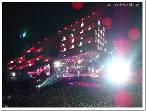Muse at Wembley (September 11 2010) 01