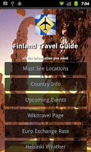 Finland Travel Guide- screenshot thumbnail