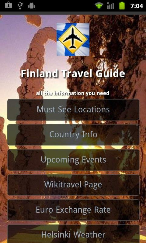 Finland Travel Guide- screenshot