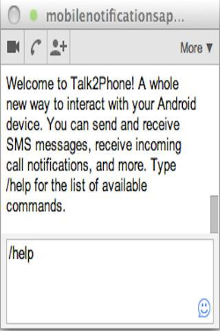 SMS Text ↔ Browser Texting PRO - screenshot