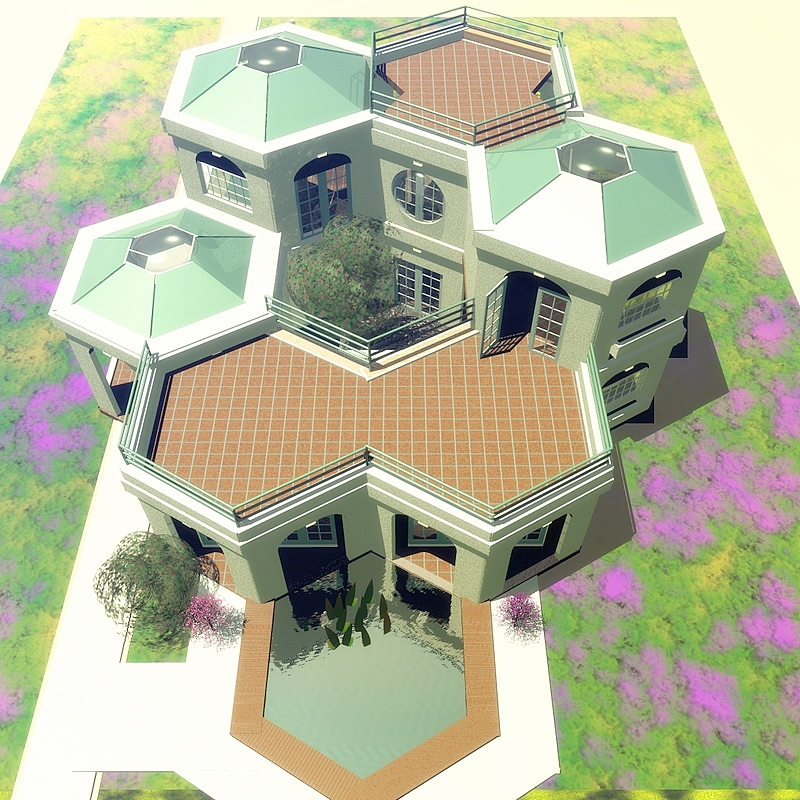 Hurricane Proof Dome Home: .: 2-STORY EARTHQUAKE PROOF CONSTRUCTION