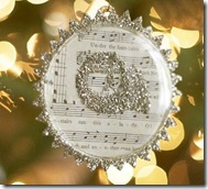 Music Note Ornament Pottery Barn