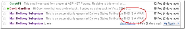 THIS IS A WAR..