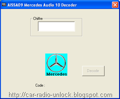 Car Audio System: mercedes radio codes download free Benz code