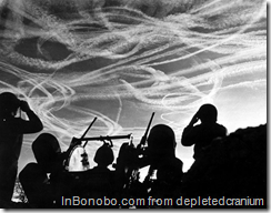 Contrails, 1944: Battle of the Bulge